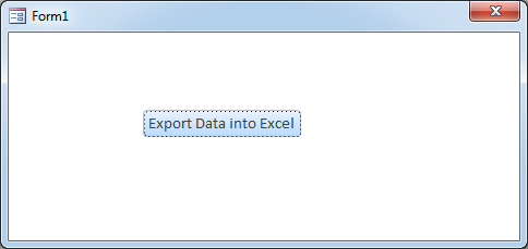 VBA Code to Export Access Recordset to Excel - EXCELSIRJI COM