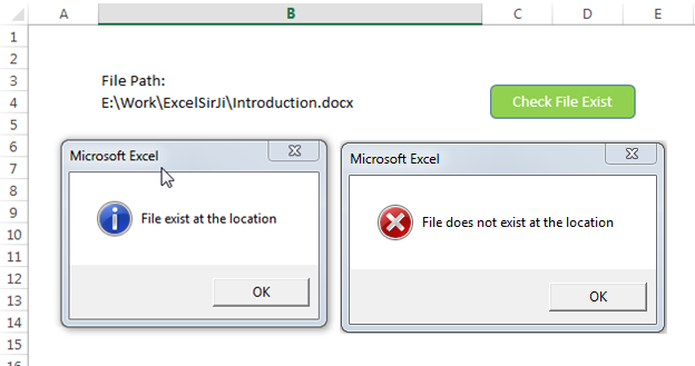 Excel check if file exists formula excel tricks ibookread Read Online