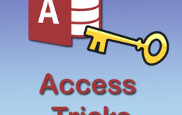 MS Access, Data Management, MS Access Tips, Access VBA Tricks