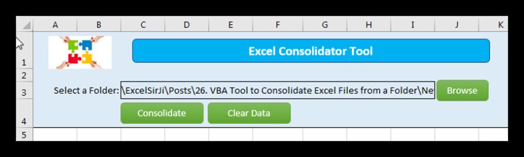 Merge Multiple Excel Files - ExcelSirJi