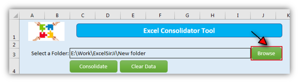 Excel Consolidator Tool