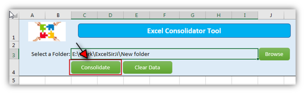 Excel Consolidator Tool by ExcelSirJi