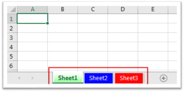 Excelsirji » VBA TRICKS » VBA Code to Change Sheet Tab Color