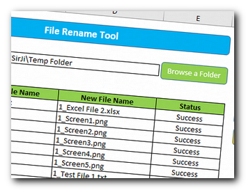 VBA To Rename Files