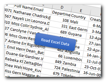 VBA Code to Read Excel Data using Connection String