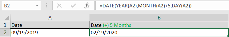 Adding Months in Dates