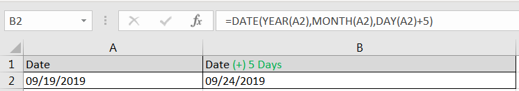 Adding Days in Date
