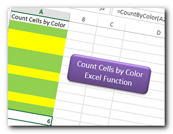 VBA Code to Count Cells by Color