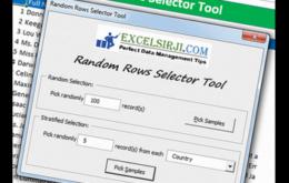 Random Rows Selector Tool