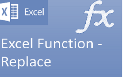 Excel Function Replace