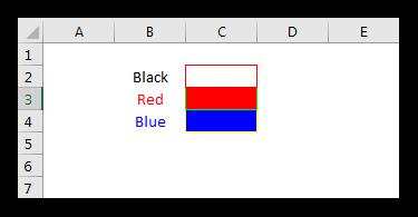 ColorIndex in Excel VBA