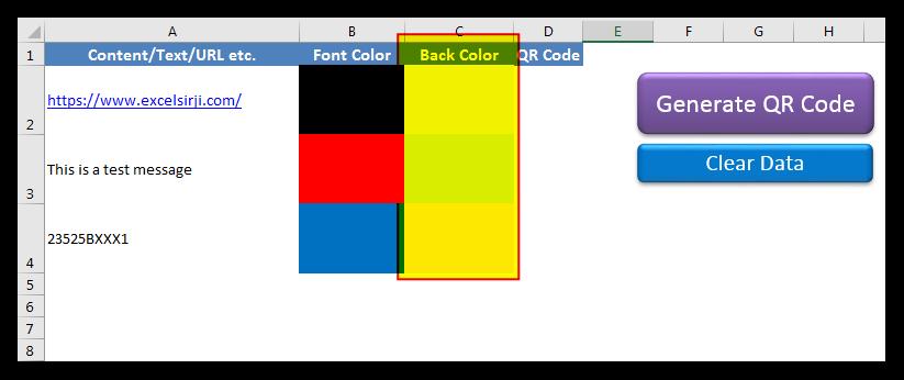 QR Code Generator Tool