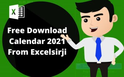 Excel Calendar 2021