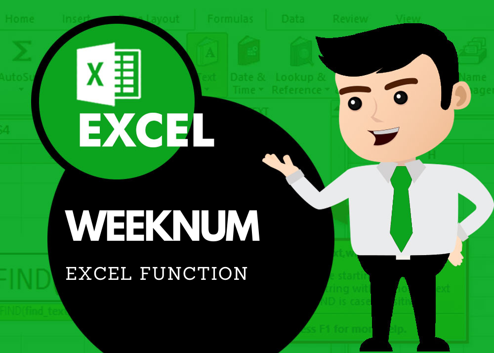 How to get Week number Excel Function