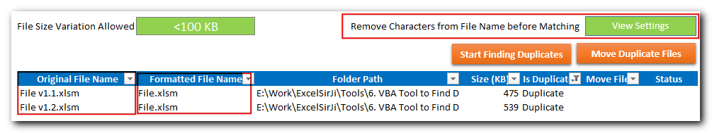 Duplicate Files Finder Tool
